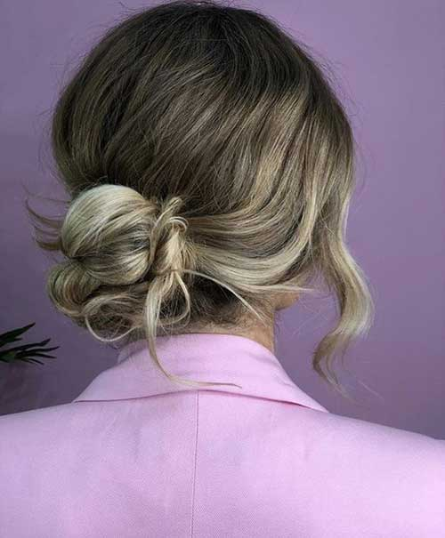Christmas Party Hairstyles for Short Hair-10