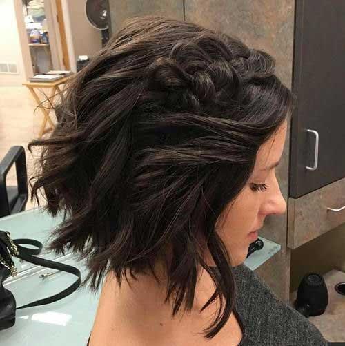 Headband Braid for Short Hair-11