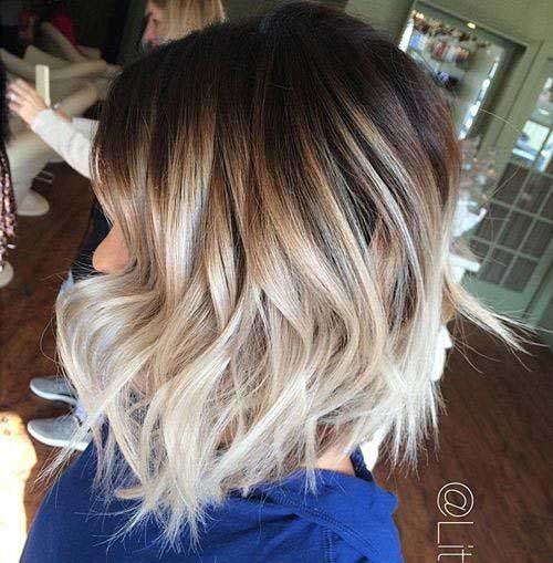 Ombre Hair Color for Short Hair 2019-11