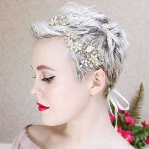 Wedding Hairstyles for Pixie Hair-11