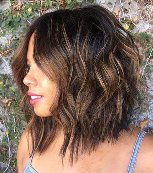 Short Layered Hairstyles for Thick Hair-11