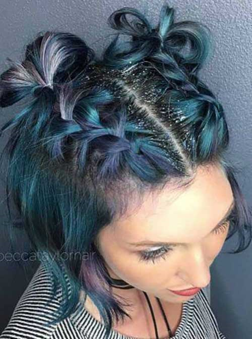 Christmas Party Hairstyles for Short Hair-12