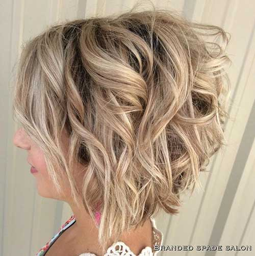 Short Layered Hairstyles for Thick Hair-12