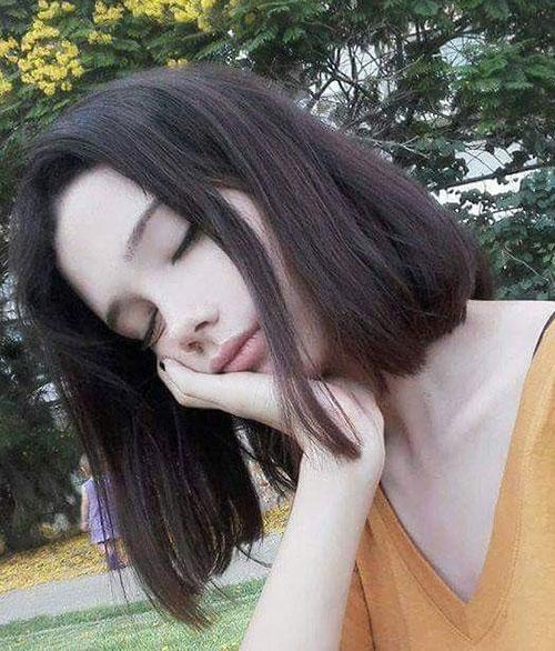 Short to Medium Haircuts for Fine Hair-12