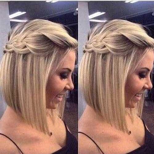 Headband Braid for Short Hair-13