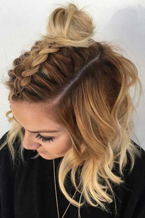 20 Latest Party Hairstyles For Short Hair Short Hairdo