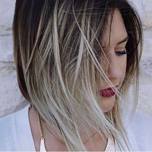 Short to Medium Haircuts for Fine Hair-13