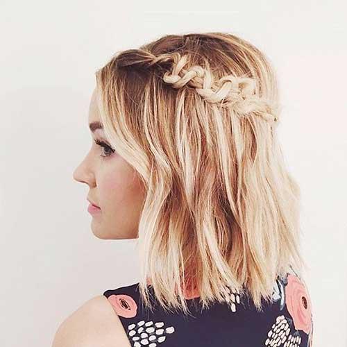 Headband Braid for Short Hair-15