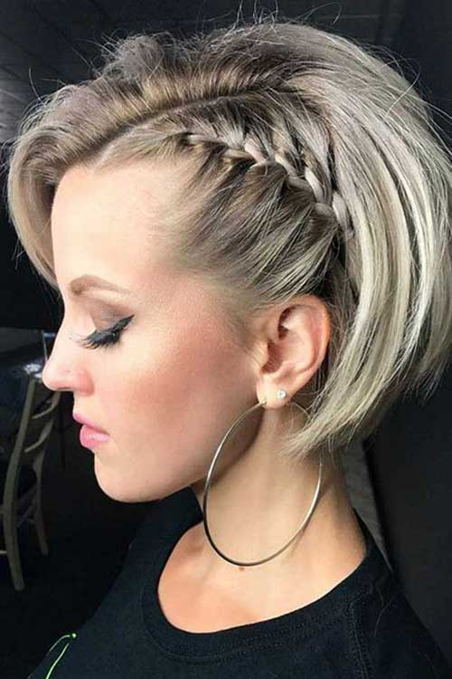 Christmas Party Hairstyles for Short Hair-15