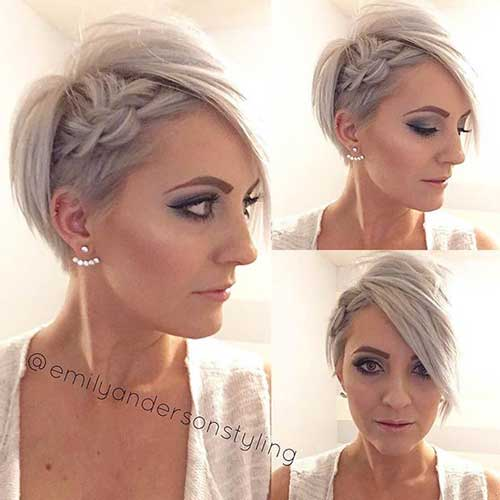 Headband Braid for Short Hair-16