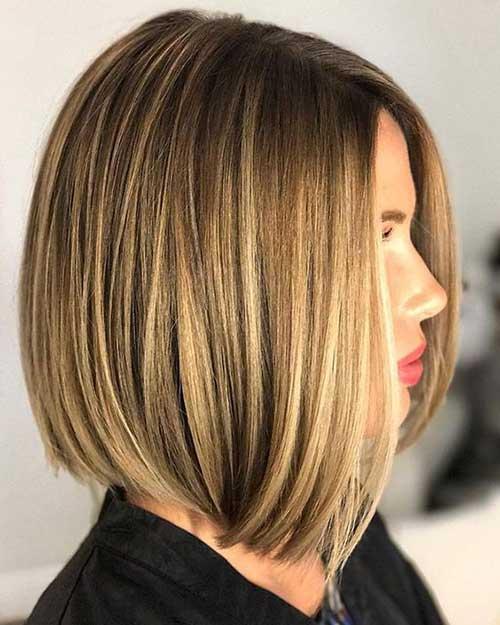 Short to Medium Haircuts for Fine Hair-16