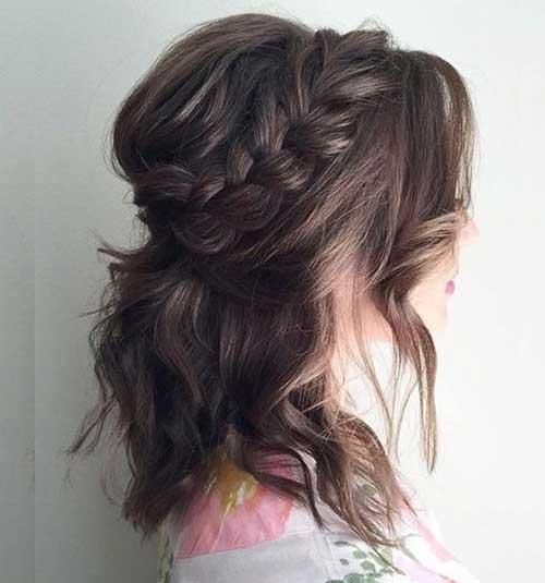 Headband Braid for Short Hair-17