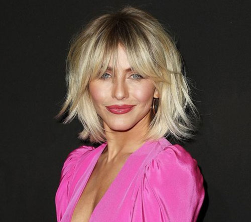 Short to Medium Haircuts for Fine Hair-17