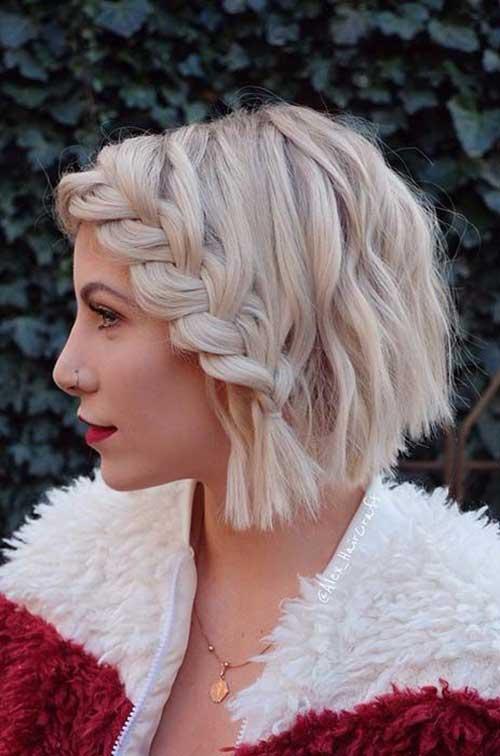 Headband Braid for Short Hair-18
