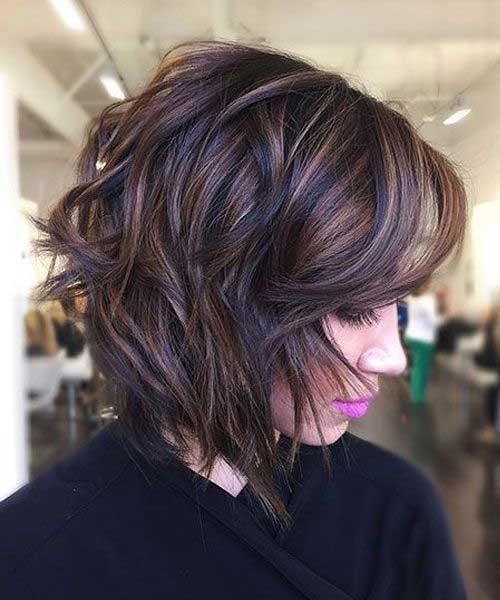Hair Color for Short Hair 2019-18