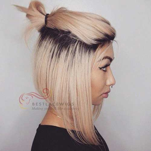 Short Hair Top Knot-18