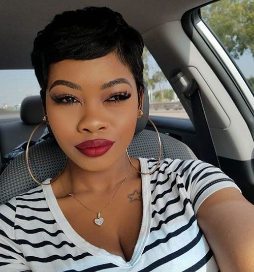 Short Haircuts for African Ladies-18