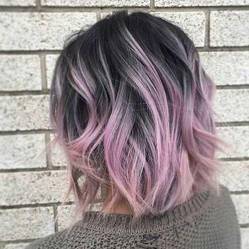 Hair Color for Short Hair 2019-19