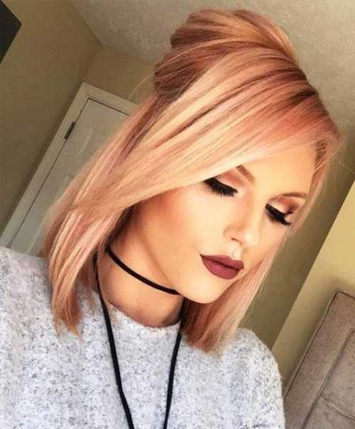 Christmas Party Hairstyles for Short Hair-19