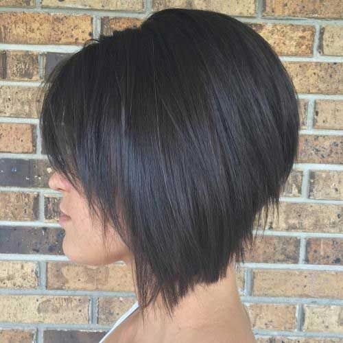 Short Layered Hairstyles for Thick Hair-19
