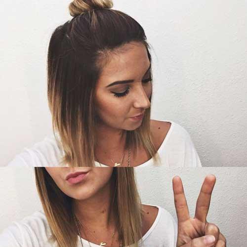 Short Hair Top Knot-20