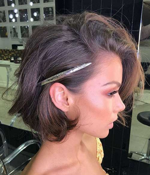 Christmas Party Hairstyles for Short Hair-20