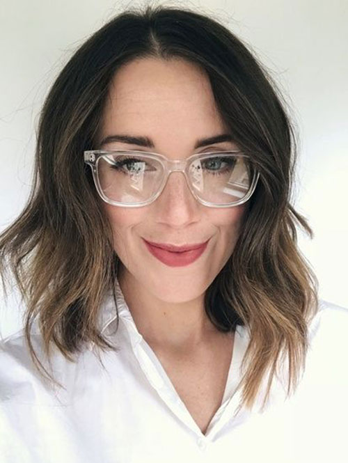 Short to Medium Haircuts for Fine Hair-20