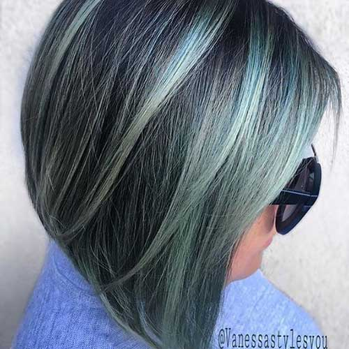 Grey Hair Color for Short Hair 2019-6