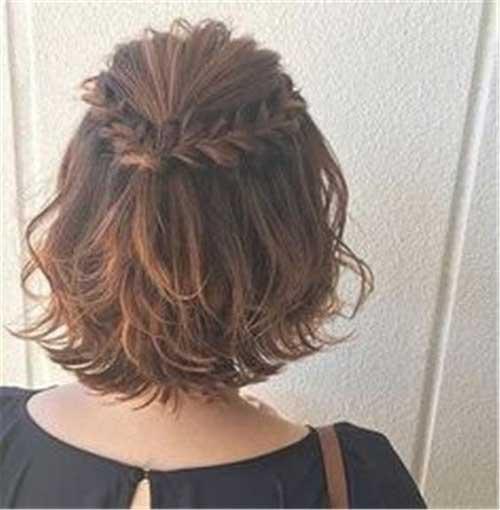 Headband Braid for Short Hair-6