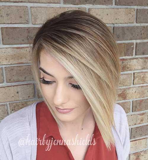 Short to Medium Haircuts for Fine Hair-6