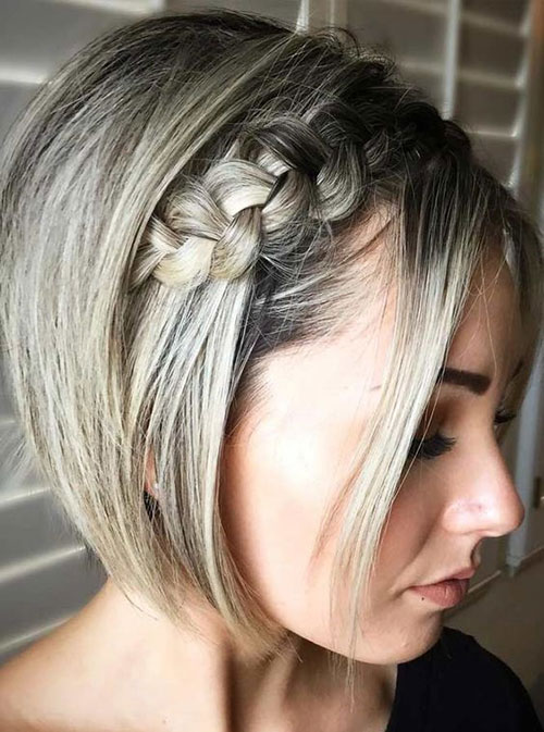 Headband Braid for Short Hair-7