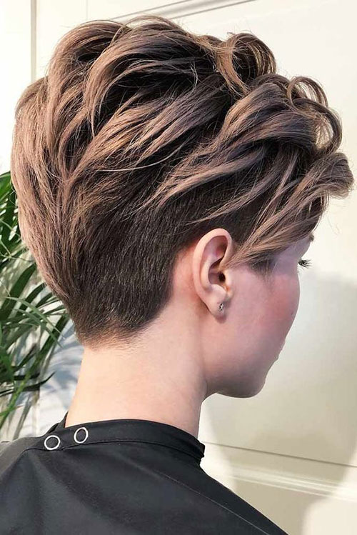 Hair Color for Short Pixie Hair 2019-7