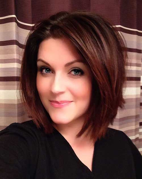 Short Layered Hairstyles for Thick Hair-7