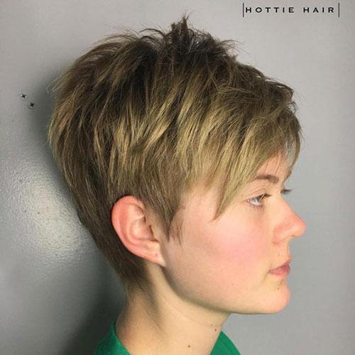 Short Haircuts for Fine Wavy Hair-7