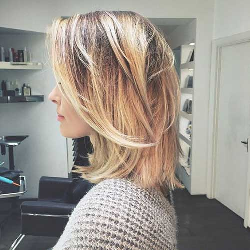 Short to Medium Haircuts for Fine Hair-7