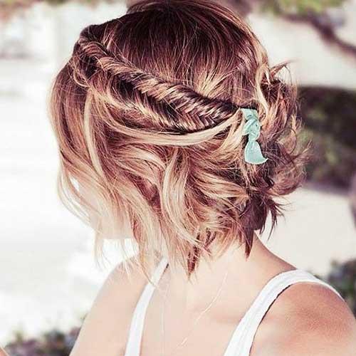 Headband Braid for Short Hair-8