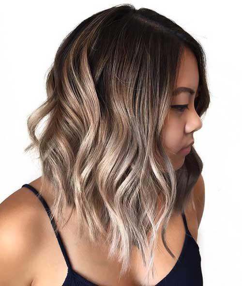 Hair Color for Lob Hair 2019-8