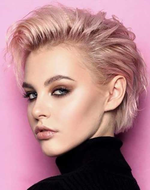 Christmas Party Hairstyles for Short Hair-8