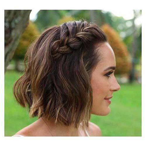 Headband Braid for Short Hair-9