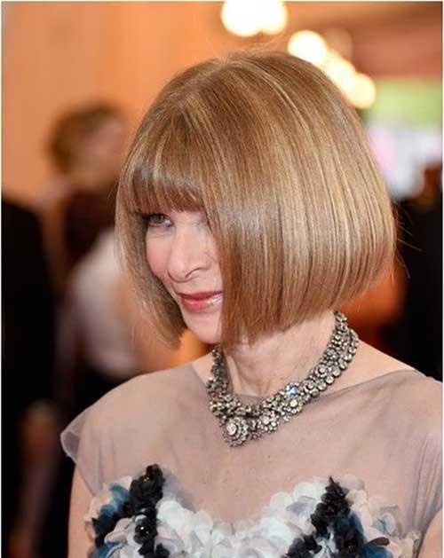 Anna Wintour Bob Hairstyles