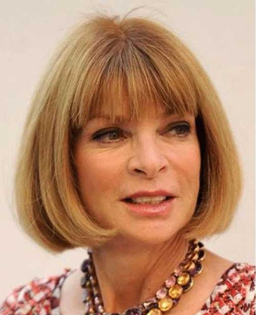 Anna Wintour Haircut