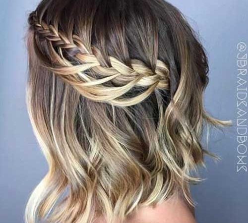 20 New Short Hair Headband Braid Ideas