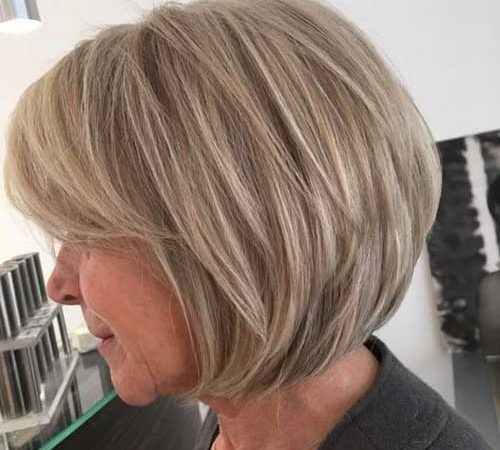 20 Latest Layered Bob with Bangs for Women