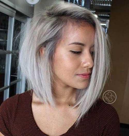 Medium to Short Haircuts for Fine Hair