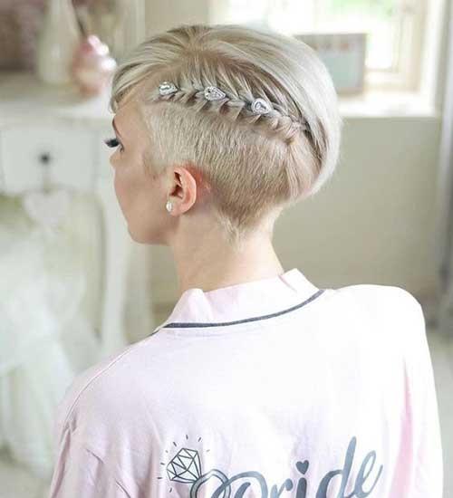 Pixie Cut Wedding Hairstyles