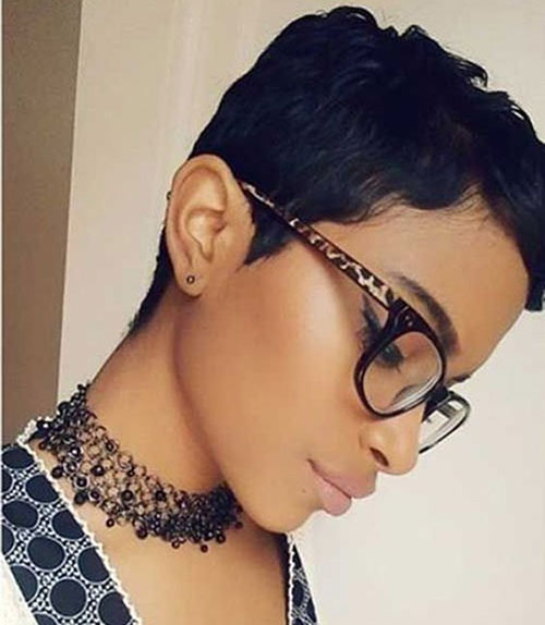 Short Cut Hairstyles for African Ladies