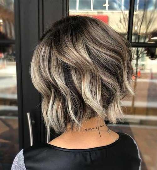 Short Highlighted Hair 2019