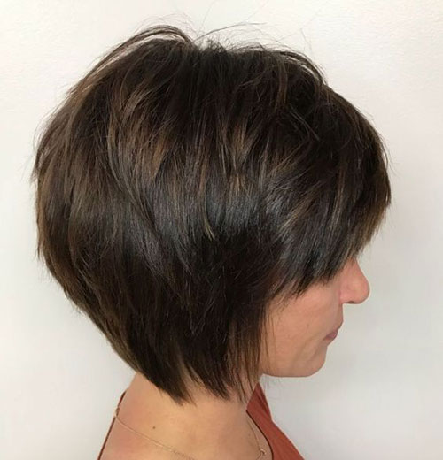 Short Layered Styles for Thick Hair