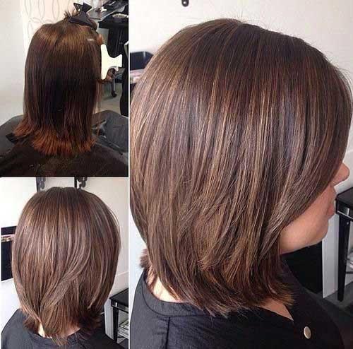 Short to Medium Length Haircuts for Thin Hair