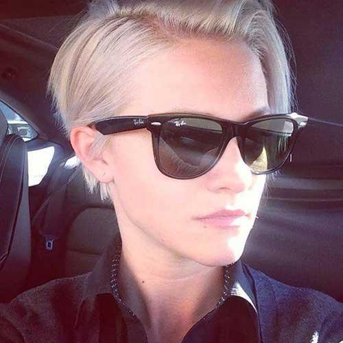 Textured Pixie Cut for Fine Hair